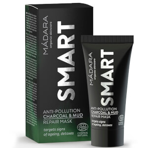 MÁDARA SMART Anti-Pollution Charcoal and Mud Repair Mask 60 ml