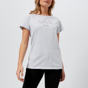 A.P.C. Women's U.S. Star T-Shirt - Grey
