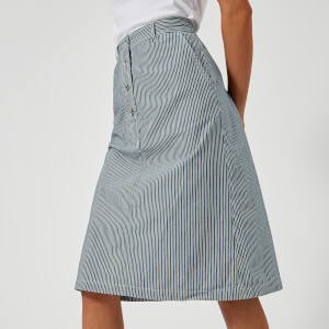 A.P.C. Women's Love Skirt - Indigo