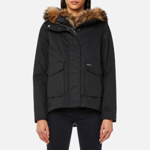 Woolrich Women's Military Eskimo Coat - Black
