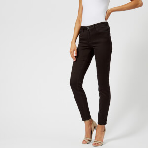 Armani Exchange Women's Skinny Jeans - Black Denim