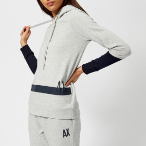 Armani Exchange Women's Hooded Sweatshirt - Grey