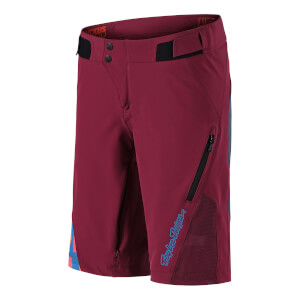 Troy Lee Designs Women's Ruckus Shorts - Burgundy