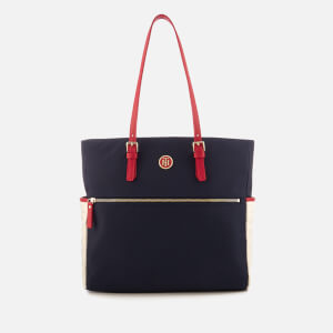 Tommy Hilfiger Women's Chic Nylon Tote Bag - Navy
