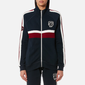 Superdry Women's Trinity Track Top - Captain Navy