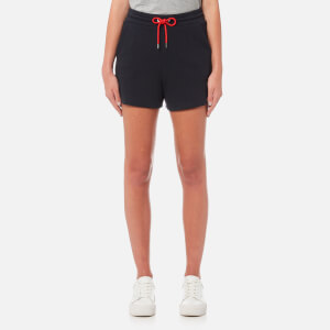 Emporio Armani Women's Drawstring Shorts - Blue