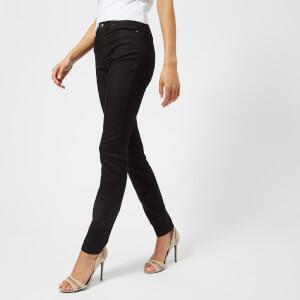 Emporio Armani Women's Skinny Jeans - Black