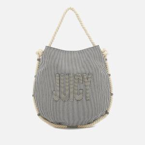 Juicy Couture Women's Sierra Circular Shoulder Bag - Navy Stripe