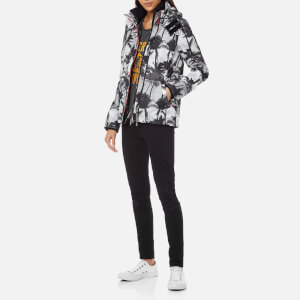 Superdry Women's Black Edition Windcheater Jacket - Mono Palm/Black/Neon Pink: Image 3
