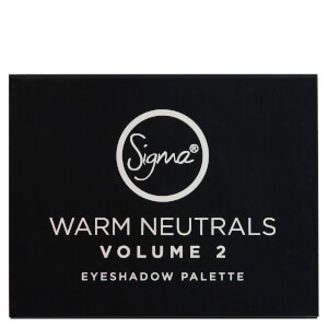 Sigma Warm Neutrals Volume 2 Eye Shadow Palette 12g: Image 3