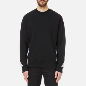 Versus Versace Men's Collar Logo Sweatshirt - Black/Grey
