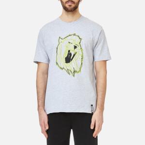 Versus Versace Men's Neon Lion T-Shirt - Grigio Ghiaccio