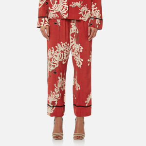 McQ Alexander McQueen Women's Piping Pin Track Trousers - Amp Red