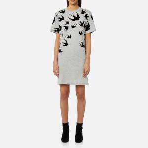 McQ Alexander McQueen Women's Swallow T-Shirt Dress - Mercury Melange
