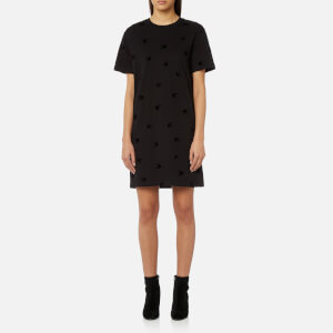 McQ Alexander McQueen Women's Swallow T-Shirt Dress - Black