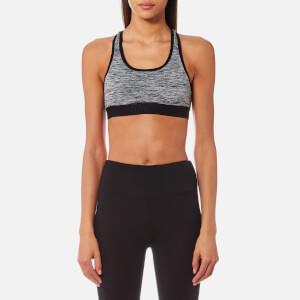 Superdry Women's Sport Core Gym Bra - Speckle Charcoal