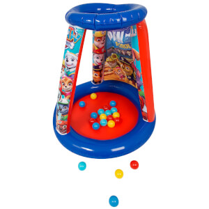Paw Patrol Playland Round Inflatable Ball Pit with 20 Balls