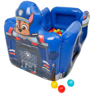 Paw Patrol Chase Vehicle Inflatable Ball Pit with 10 Balls