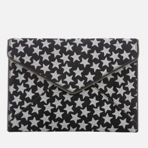 Rebecca Minkoff Women's Leo Clutch Bag - Black