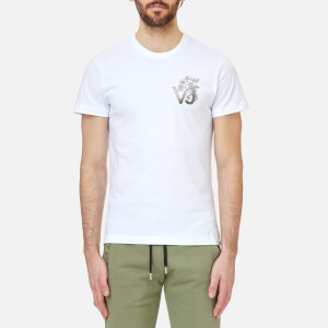 Versace Jeans Men's VJ Chest Logo T-Shirt - Bianco