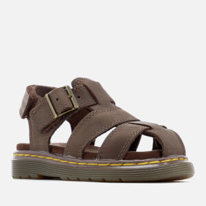 Dr. Martens Toddlers' Moby Wyoming Sandals - Dark Brown: Image 3