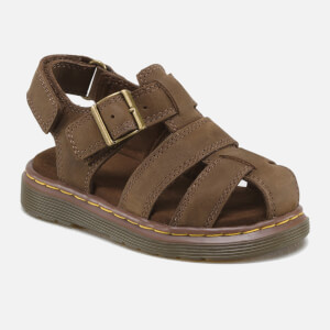 Dr. Martens Toddlers' Moby Wyoming Sandals - Dark Brown: Image 2