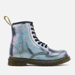 Dr. Martens Kids' Delaney TP Split Lace Low Boots - Grey