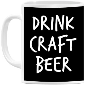 Drink Craft Beer Mug