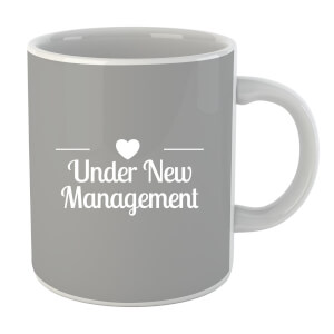 "Taza ""Under New Management"" - Blanco"