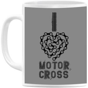 I Love Motorcross Mug