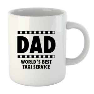 Dad Taxi Service Mug