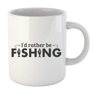 Id Rather be Fishing Mug