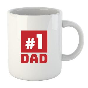"""Taza """"#1 Dad"""""""