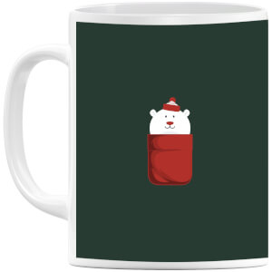 Christmas Polar Bear Pocket Mug