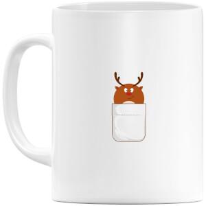 Christmas Reindeer Pocket Mug