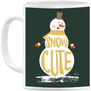 Christmas Snow Cute Snowman Mug