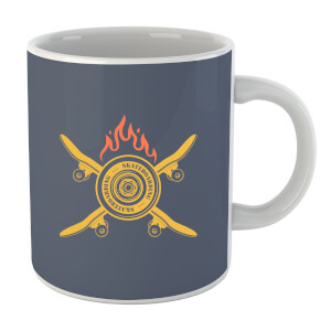 Skateboards on Fire Mug
