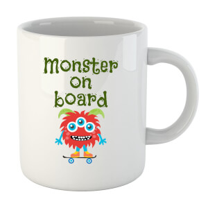 "Taza ""Monster On Board"""