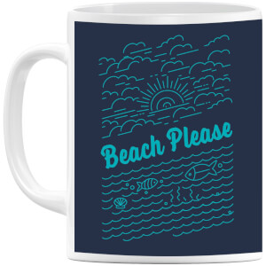 Beach Please Mug
