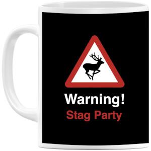 Warning Stag Party Mug