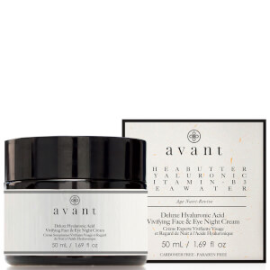 Ночной крем с гиалуроновой кислотой Avant Skincare Deluxe Hyaluronic Acid Vivifying Face and Eye Night Cream 50 мл