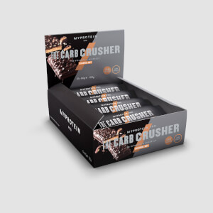 Carb Crusher, Caramel Nut, 12 x 60g