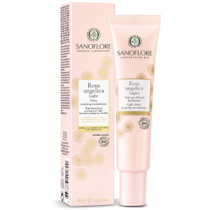 Sanoflore Rosa Angelica Light Dewy Morning Moisturiser 40ml