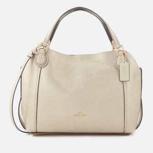Coach Women's Edie 28 Shoulder Bag - Platinum