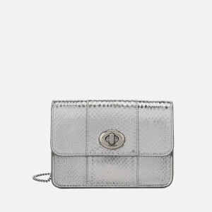 Coach Women's Bowry Cross Body Bag - Metallic Graphite