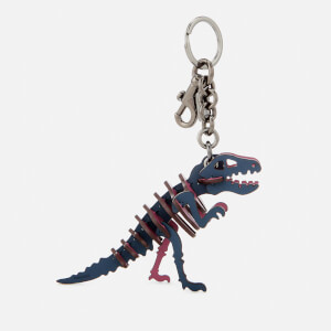 Coach Women's Small Rexy Bag Charm - BK/Dark Denim
