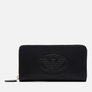 Emporio Armani Women's Frida Eagle Wallet - Black