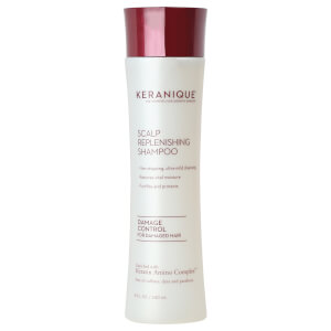 Keranique Scalp Replenishing Damage Control Shampoo 8oz