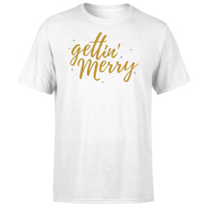 Gettin' Merry T-Shirt - White