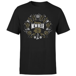 Hoppy New Beer T-Shirt - Black